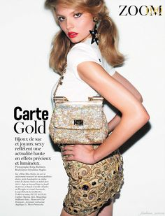 ☆ Magdalena Frackowiak | Photography by Katja Rahlwes | For Vogue Magazine France | October 2011 ☆ #Magdalena_Frackowiak #Katja_Rahlwes #Vogue #2011