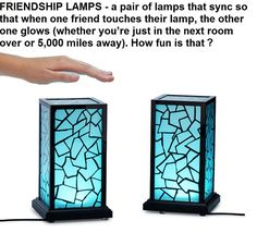 Imagine giving your Stranger-Things-obsessed friend one of these but you don't tell them about the other lamp. Will.