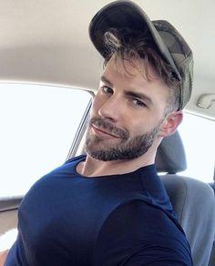 Beautiful Men Faces, Gorgeous Men, Hairy Men, Bearded Men, Moustache, Hot Guys, Handsome Faces, Handsome Man, Pretty Men