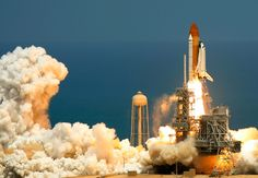 First of the last Space Shuttle launches