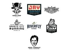 Super excited to have 7 logos featured in Logo Lounge 9!