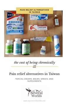 Topical Pain Relief Alternatives in Taiwan