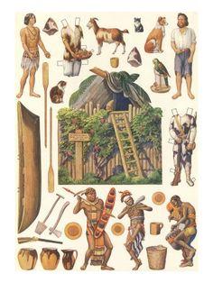 english teaching worksheets robinson crusoe english happy hearts at home printable robinson crusoe paper doll set