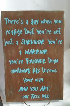 One Tree Hill/Wood Sign/One Tree Hill Quote/One Tree Hill Sign/Lucas Scott/One…