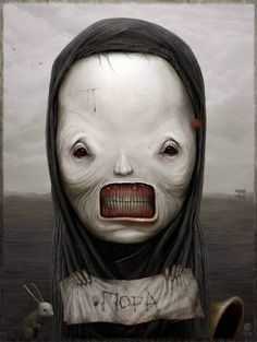 Dark Art Illustrations by Anton Semenov