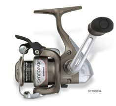 Shimano Syncopate FG Spinning Reels    Make quick, one-handed casts via the Quick-Fire II system, while achieving increased distances with less effort and wind knots because of the Propulsion Line Management System.