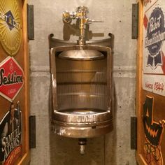 Beer Keg Urinal Stainless Novelty Toilet for von hammeredintime