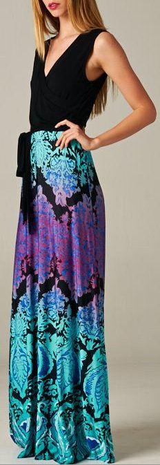 Joanna Surplice Dress