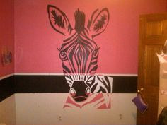 This is my daughter Zoeys actual room. My sister, Brooke,  I spent a Saturday painting this project. http://media-cache5.pinterest.com/upload/173177548141326175_OfVroZ2i_f.jpg gabbizzyflips girls bedroom ideas