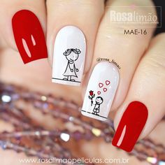 Ideas Nails Design Popular Valentines Day For 2019 Stylish Nails, Trendy Nails, Love Nails, Fun Nails, Valentine Nail Art, Nails 2018, Diy Nail Designs, Beauty Nails, Hair And Nails