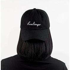 665cf1de8c9e4 Feelings Cap Embroidered Dad Hat Cotton Baseball Cap For Men And Women at  Cheapcapssmall Men s Hats   Caps store