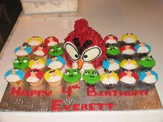 Angry Bird Splatter Party | CatchMyParty.com