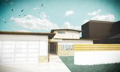 The basics on creating a simple architectural rendering