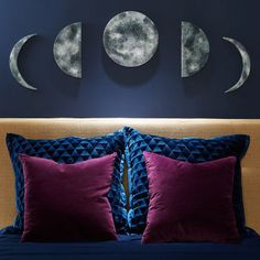 Phases of the Moon Wall Art
