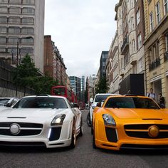 His & His SLS AMG