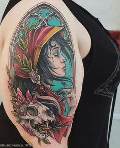 Hooded Lady With A Crystal Skull by @apbailey_tattoos at Studio XIII Tattoo in Cocoa Florida. #lady #hoodedlady #skull #crystals #apbailey_tattoos #apbaileytattoos #studioxiii #studioxiiitattop #cocoa #florida #tattoo #tattoos #tattoosnob
