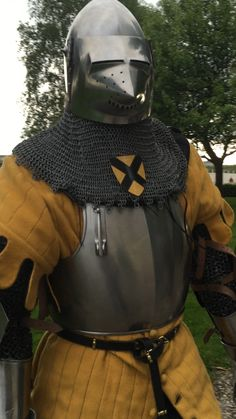 south-german knight from the late Medieval Weapons, Medieval Knight, Medieval Fantasy, Armadura Medieval, Late Middle Ages, Live Picture, Knight Armor, Arm Armor, Fantasy Armor