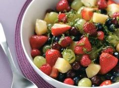 Pina Colada Fruit Salad Recipe