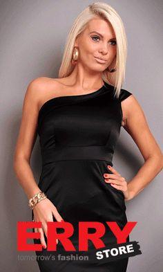 """Rochie de seara Ann Sexy Black - 155,00 lei - Imbraca de la ERRY.ro rochii de seara lungi, rochii de seara scurte, rochii de seara elegante scurte, rochii de seara negre,rochie de seara neagra din stocul online! http://www.erry.ro/rochie-ann-sexy-black-3.html Invaluieste in mister si finete si lasa-te purtata pe cele mai inalte culmi ale frumusetii!""""Orice femeie trebuie sa aiba in garderoba ei o rochie neagra""""!Ce model de rochie de seara vei alege?…"""