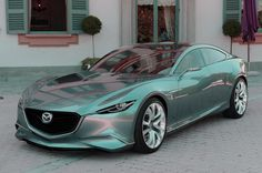 From the makers of the rotary engine....2015 Mazda RX9 ...damn thing looks like it going 100mph just sitting there