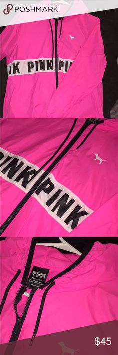 Victoria Secret PINK Raincoat Brand New Condition! PINK Victoria's Secret Jackets & Coats