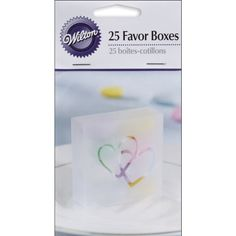 Wilton 10064472 Two Hearts Acetate Box, 25-Pack, Clear Wi... http://www.amazon.com/dp/B002PNUZY6/ref=cm_sw_r_pi_dp_q9Mpxb1VAHS9S
