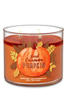 Bath and Body Works Sweet Cinnamon Pumpkin Candle oz / 411 g Bath & Body Works