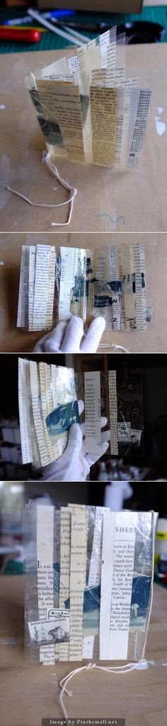 this link is broken... but this image is still worth pinning. love this idea - transparent-book-with-bubbles-marie-wintzer-japan