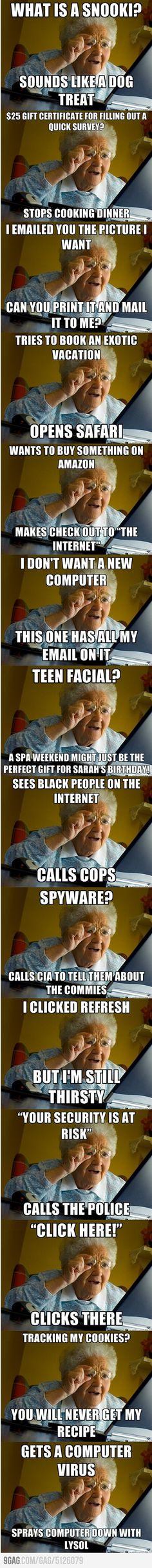 Internet Grandma Surprises