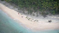 Drei Tage auf einsamer Insel: Schiffbrüchige retten sich mit einem Trick