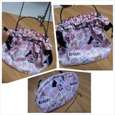 Metal Frame/slingbag/drawstring bag
