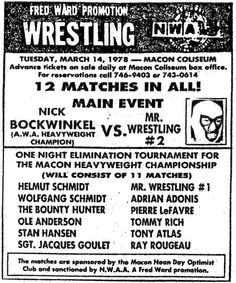 Mr. Wrestling 2 vs. AWA Champion Nick Bockwinkel