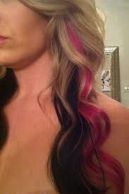Image result for pink peek a boo highlights