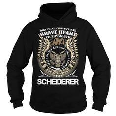 SCHEIDERER Last Name, Surname TShirt v1