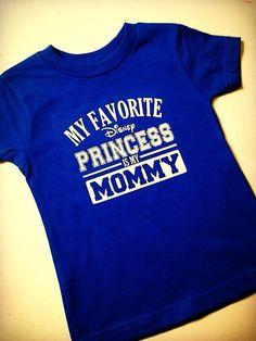 FREE SHIPPING!! My Favorite Disney Princess is my MOMMY...T Shirt for Older Boys, Disney Vacation Shirt, Disney Family Shirt