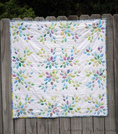 Little Leaves Quilt finished! by SewingByStephanie, via Flickr