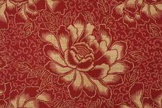 Waverly Boho Batik Sun & Shade Printed Poly Outdoor Fabric in Henna $8.95 per yard