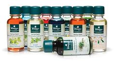 Kneipp Herbal Bath Collection - 10 pack  Has ten different scents:   Eucalyptus, Juniper  Lavender, Valerian and Hops , Wildflower, Orange and Linden Blossom , Melissa , Rosemary,Spruce, and Almond