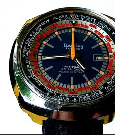 An exquisite 1970's Yearling World Timer.