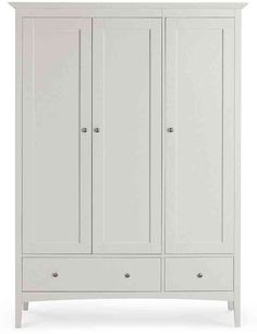 Buy the Hastings Grey Triple Wardrobe from Marks and Spencer's range. Bedroom Inspo, Room Decor Bedroom, Girls Bedroom, Bedroom Ideas, Kids Wardrobe, Wardrobe Doors, Triple Wardrobe, Mudroom, Wardrobes