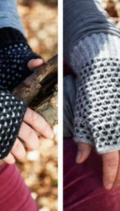Familie Journal - strikkeopskrifter til hende Fair Isle Knitting Patterns, Drops Design, Fingerless Gloves, Arm Warmers, Knit Crochet, Diy And Crafts, Succulents, Beach, Fingerless Mittens