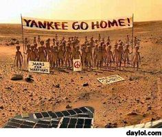 Meanwhile, on Mars