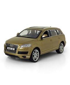 Take a look at this Gold Remote Control Audi Q7 by Brooklyn Lollipop on #zulily today!