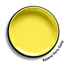 Resene Paris Daisy is a fiesta of clear yellow, active and cheerful. From the Resene Multifinish colour collection. Try a Resene testpot or view a physical sample at your Resene ColorShop or Reseller before making your final colour choice. www.resene.co.nz