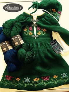 Ravelry: Nordland Festdrakt Pike pattern by Lill C. Knitting For Kids, Baby Knitting, Ag Dolls, Traditional Outfits, Most Beautiful Pictures, Ravelry, Doll Clothes, Knit Crochet, Knitting Patterns