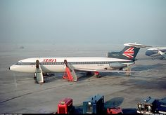 BEA British European Airways Hawker Siddeley HS-121 Trident 2E