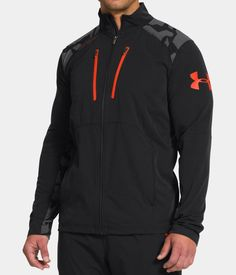 a44c16e93 Men's UA Combine® Training Storm Tundra Woven Jacket   Under Armour US Under  Armour Hoodie