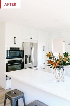 Before and After: The Subtle Changes to This Reconfigured IKEA Kitchen Are Everything | Kitchn