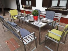Outdoor Furniture Sets, Outdoor Decor, Home Decor, Luxury, Stainless Steel, Decoration Home, Room Decor, Home Interior Design, Home Decoration