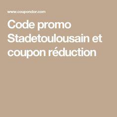 Code promo Stadetoulousain et coupon réduction
